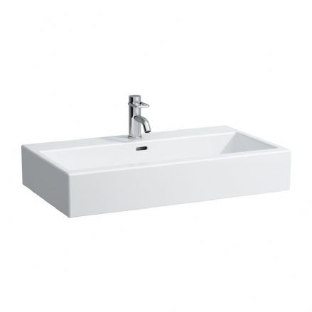 817436 - Laufen Living City 800mm x 460mm Washbasin - 8.1743.6